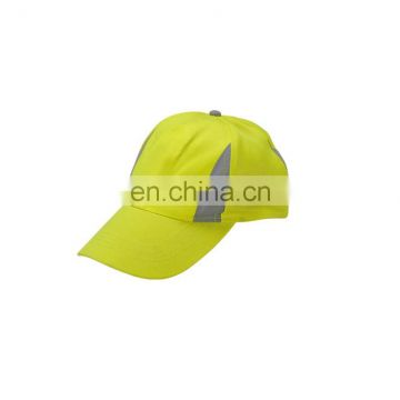 fluorescent Promotional Hi-vis Reflective knee Safety outdoor Sports hat