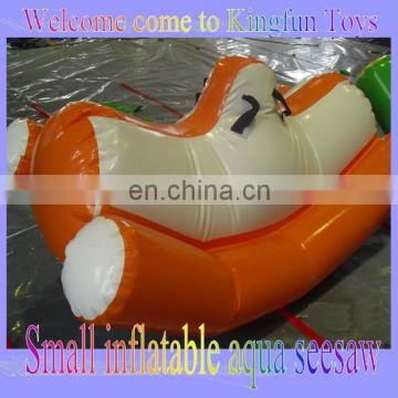 inflatable water games/water totter/aqua seesaw
