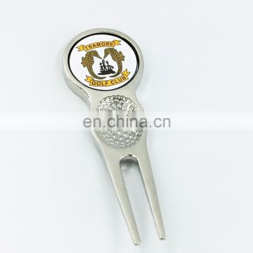Bulk blank custom golf divot repair tool / pitch fork