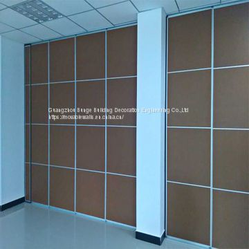 Commercial Decorative Sliding Folding Office Acoustic Room Divider