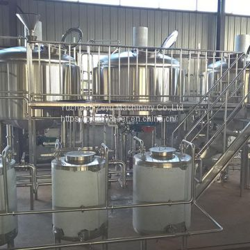 2000L Three Vessel Brew House