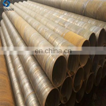 Hot Sale ERW A572 GR.50 Q235 Q345 Carbon Spiral Welded Steel Pipes