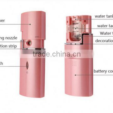 Multifunction Mini Facial Steamer Skin Care Machine Ibeauty Nano Mist Sprayer Vascular Removal