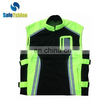 Hot selling cool reflective motorcycle vest