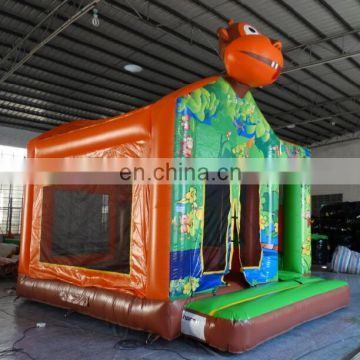 jungle monkey inflatable combo