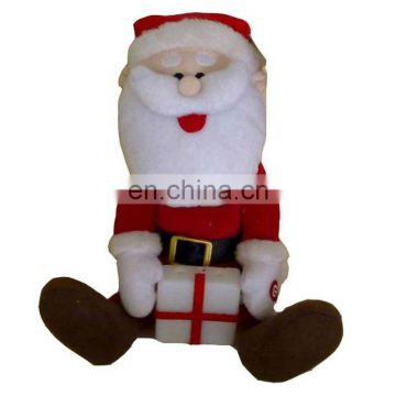 2016 Dancing Christmas plush toy Christmas Santa Shenzhen toy factory