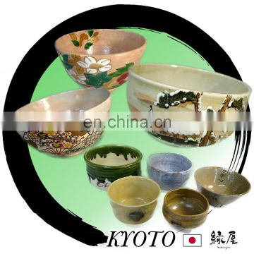 Assorted and Vintage manufactures of porcelain dish Rice bowl with various designs made in Japan