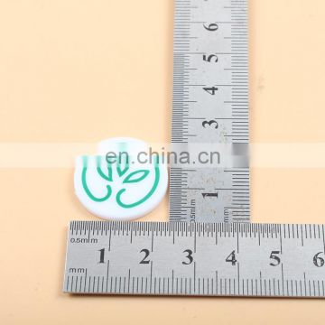 SGS wenzhou printed round custom shopping cart tokens