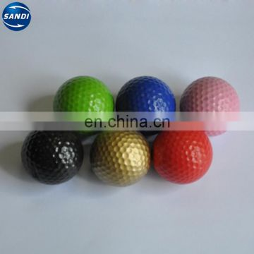 high quality colorful bulk golf range balls