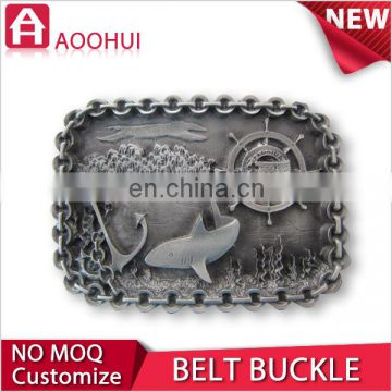 Good quality die casting sport medallion belt buckle clasp
