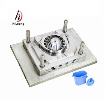 products tools injection plastic parts mould for mop bucket mold