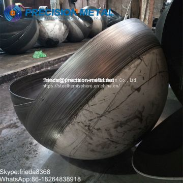 steel hemisphere hemispherical head metal half spheres