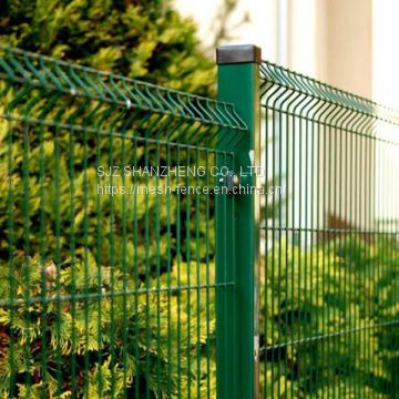 Welded Wire mesh fencing Rigid panel in Europe style