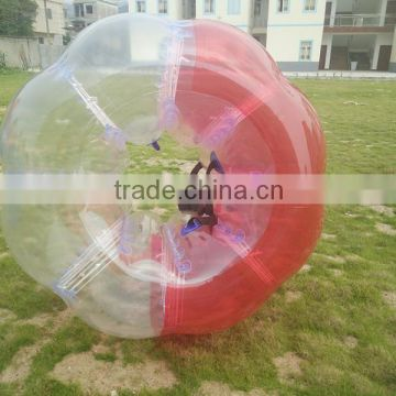 2016 hot sale TPU Inflatable Body human body bubble zorb ball pvc inflatable bumper ball soccer bubbles for adult