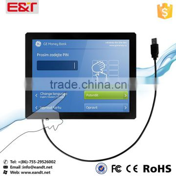 12 inch wall mount touch screen replacement , ir touch screen panel/ frame