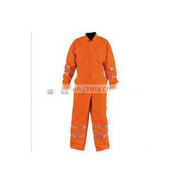 EN471 Standard Hi-vis Reflective Coverall with reflective strip