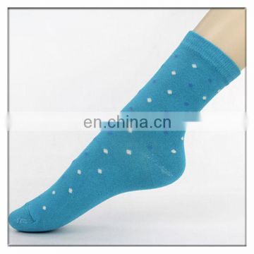 spots jacquard women socks