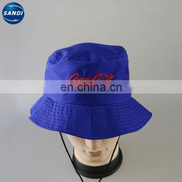 Promotional custom LOGO printed summer fishing hat