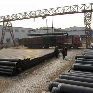 China Lsaw Welded Black Round Carbon Steel Pipe supplier