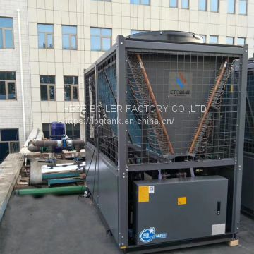 Low price air cooled scroll chiller industrial chiller  130KW