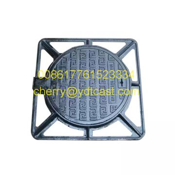 600x450x100mm Tristar Double Triangular Manhole Cover and Frame