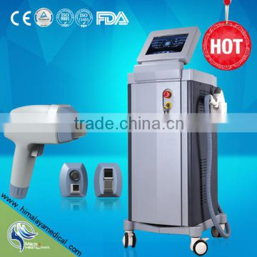 Black Dark Skin Diode Laser Hair Beard2000W Removal Painless Laser Hair Removal Machine Face