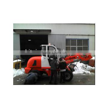 ZL08A 800kg China wheel type backhoe loader for sale