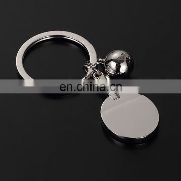 Small Abacus Metal keychain Gold plating metal keychain Custom 3D Blank metal keychain