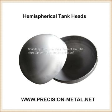 Customized Carbon Steel hemisphere hemispherical dished end head Fire Pit Head/dish End