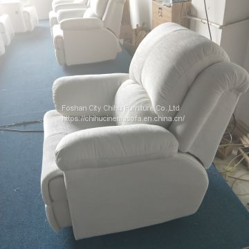 Fabric manual recliner home theater sofa,living room recliner sofa