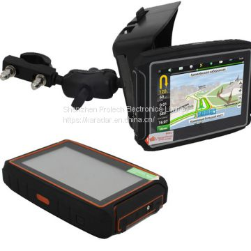 4.3 Inch Wince 8G Gps Speedometer Motorcycle