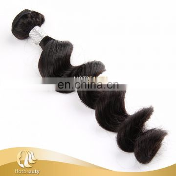 high quality,virgin human hair weaving lovely loose wave PayPal