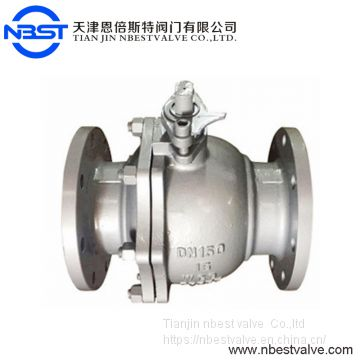 3/4 Inch 150lb Stainless Steel Flange Type Low Pressure Ball Valve