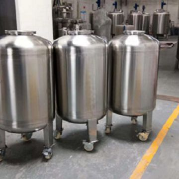 Vertical Stainless Steel Tank  Thermograph Ss304