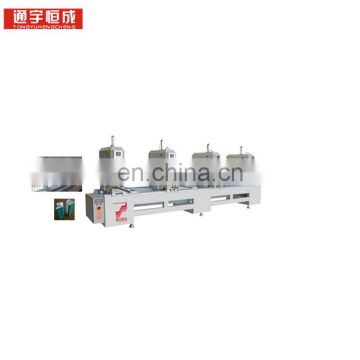 One or two three four head seamless welding machine Automatic window Lock welder water slot holes machinery with cheap price