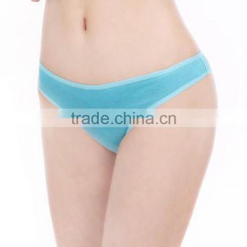 Yun Meng Ni Underwear Six Colors Simple Design Cotton Lady Thongs