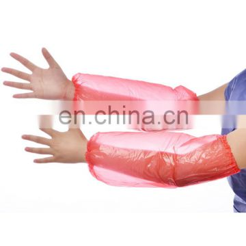 Colorful Factory Waterproof oil-proof Disposable Arm Sleeves PE Over Sleeves