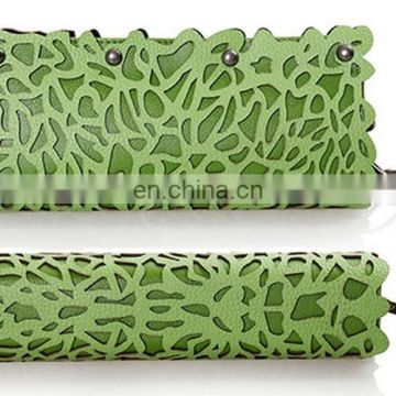 Fashion Style Openwork and Rivets Design Women's Clutch