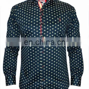 Rebel Navy Party Wear Shirt