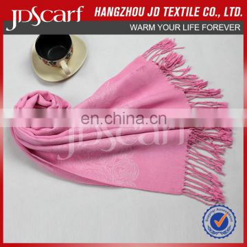 China manufacturer new fashioned luxury fashion pink scarf paisley scarf