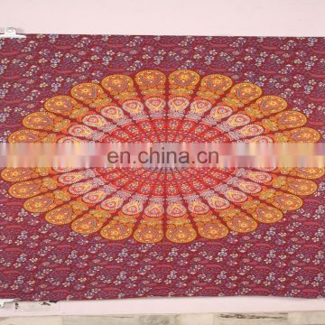 Cotton Mandala Tapestry Indian Tapestry Wall Hanging Hippie Wall Tapestries