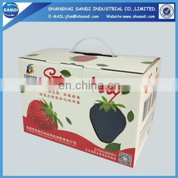 Custom packaging full color printing corrugated carton box