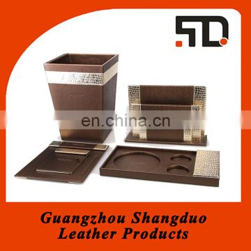 Cheap leather hotel amenities supplier