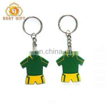 2018 Popular PVC Shirt Keychain