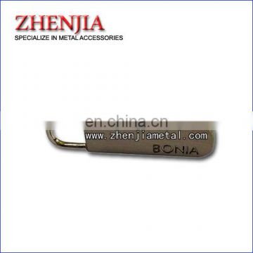 customised logo metal zipper puller