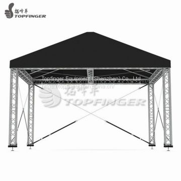 Star Finish Line Frame Truss System Dj Lighting Truss Systems AV Truss 350x350mmx2m