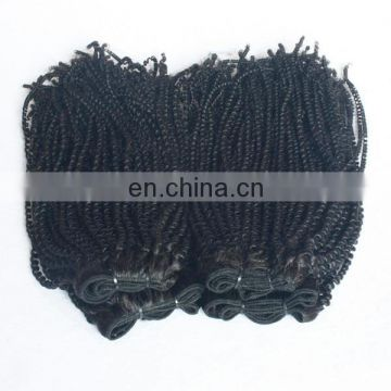 New arrival different types of weavon hair afro tight kinky curl human hair weft raw indian hair directly from india