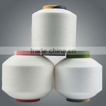 China suppliers 95% polyester 5% spandex yarn t shirt yarn competitive price good quality