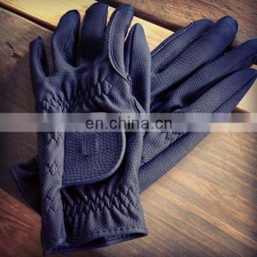 Lightweight horse Riding Gloves soft leather