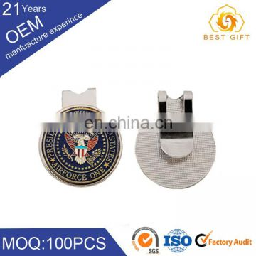 wholesale China new custom metal golf cap clip ball marker